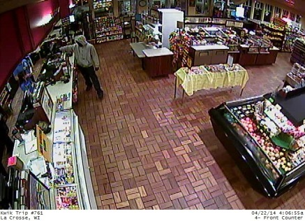 Kwik Trip Robbery Counter