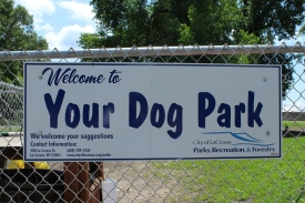 Your Dog Park Sign