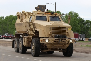 Mine Resistant Ambush Protected Vehicle