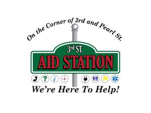 3rd Street Aid Station Logo