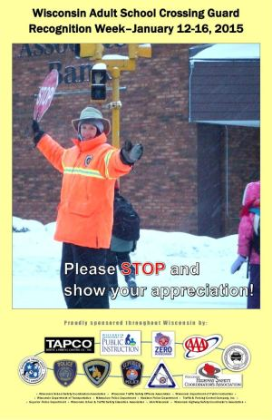 Crossing Guard Week Poster