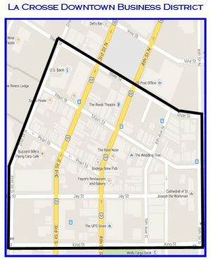 La Crosse Downtown Business District