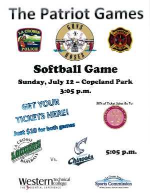 Patriot Games Flyer