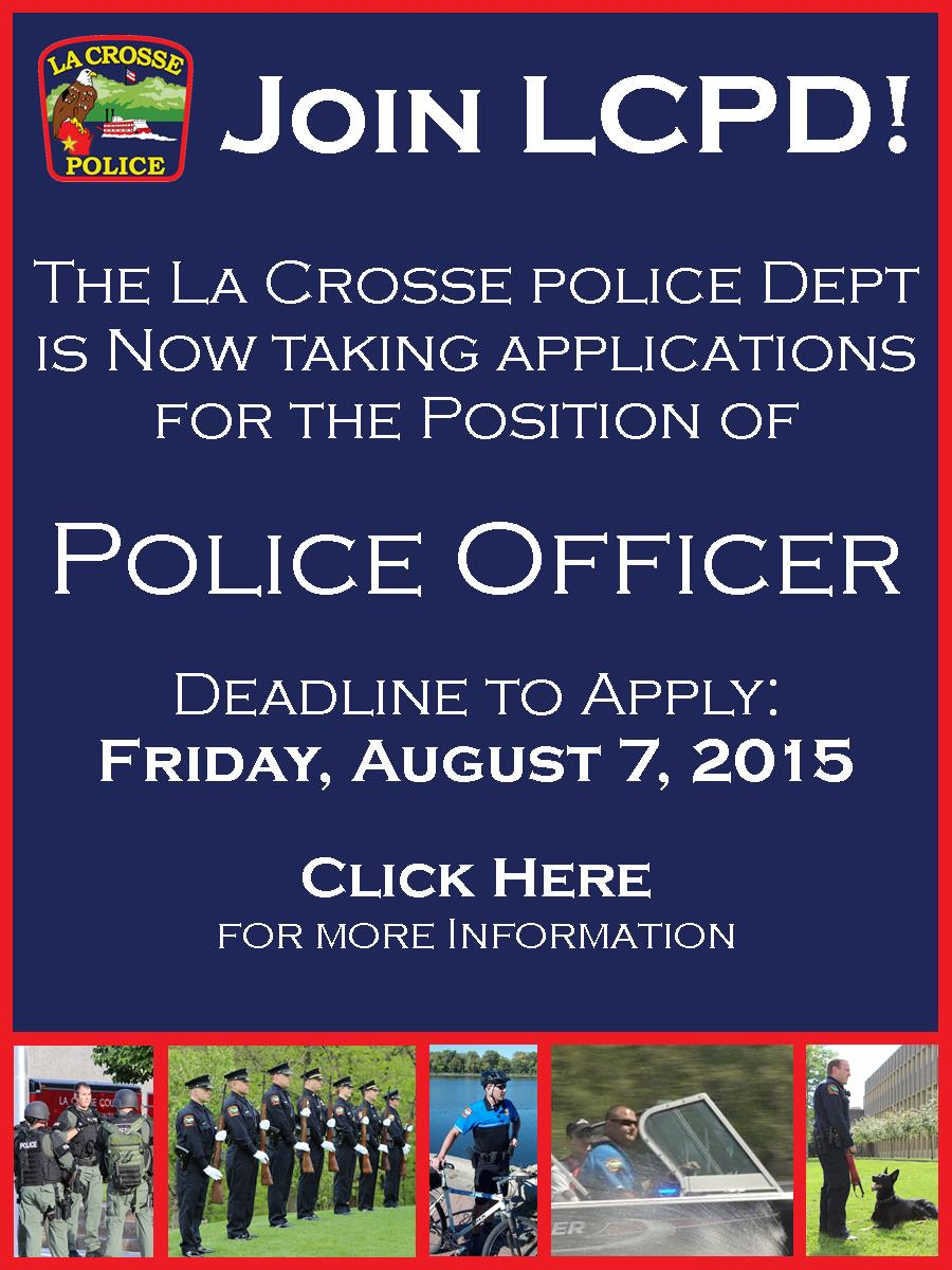 Join LCPD Banner